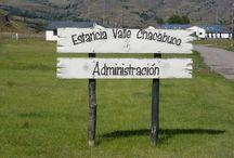 Valle Chacabuco / Ruta escénica Valle del río Chacabuco