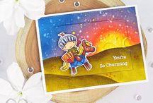 My cardmaking: My Favorite Things / MFT Stamps