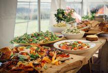 Essen-Dessert-Hochzeit / Finger Food, Hauptessen und Dessertideen