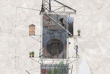 Architecture - AXONOMÉTRIE