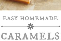 Homemade carmels