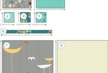 patchworkové vzory