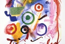 Jean Tinguely posters / Exhibition posters of Jean Tinquily which I own or want to acquire