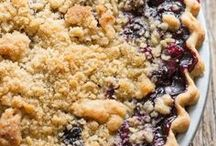 crumble pie and other yummies