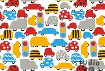 kleurrijke simpele patronen