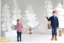 Inspirace Vánoční focení