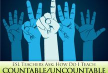 Grammar - Uncountable & Countable Nouns