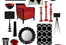 interiors collage