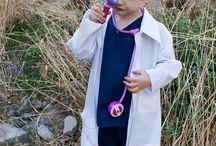 Kiddos in Lab Coats
