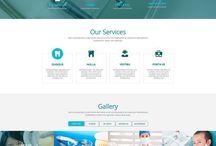 웹 사이트 템플릿