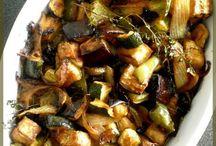 Recettes - plats de légumes