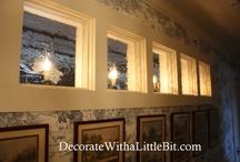 Family/TV Room / Add windows for tall ceiling. East morning Sunlight / by Rachel Ray