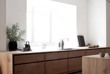 wood kitchen cabinets natural