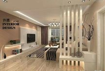 kitchen and living divider