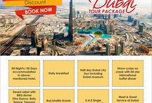 Dubai Tour Packages / Dubai Tour Packages - Want to travel dubai at affordable rates from India's top metropolitan cities like Chandigarh, Delhi, Mumbai, Bangalore etc. Then follow this board and get best travel packages with best services.