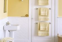 Small bathroom ideas / Space saving and elegance