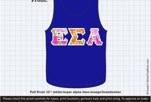 EPSILON SIGMA ALPHA T-Shirts That Rock 2 / #ESA #EPSILONSIGMAALPHA / by Greek T-Shirts That Rock