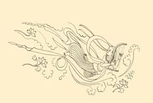 Apsaras. Draw