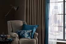 Decorative Blackouts from Edmund Bell / Our Decorative Blackouts ranges are available in an array of colours and textures, many both in wide and narrow widths and meet UK and international FR standards. For more information and for free samples, contact us on +44 (0)1706 717070 or sales@edmundbell.com.