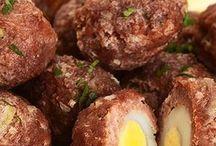 carne moída com ovo
