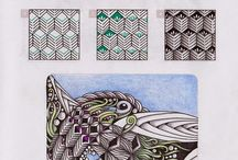 Zentangle-patterns