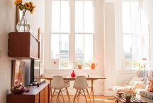 Loft Living / Open floorpan mean tons of possibilities. Find inspiration for how to style your loft here.