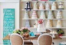 Cake decorating studio