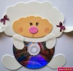 Lamb craft idea for kids / This page has a lot of sheep and lamb craft for kids,parents and teachers