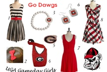 College Gameday Ensembles / College game day dresses, jewelry, and accessories for several schools can be found here!