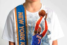 New York Knicks / Officially licensed NBA player graphic apparel for all of the New York Knicks top players.