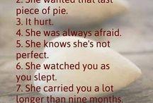 Lovely mum / my first & last love ❤