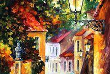malíři