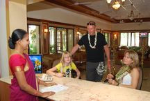 Checkin Reception at Ideal Beach Resort / Our Ideal Beach Resorts staffs will always help you about your room services.