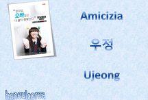 Amicizia in lingua coreana / Definizioni dei vari modi per riferirsi agli amici