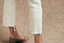 otrhané džíny