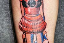 Laszlo´s world / collection of our amazing artist works  - tattoo anansi munich Germany