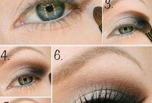 Návody na malování očí