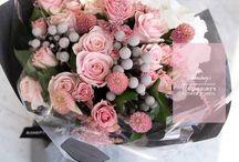 분홍꽃다발