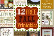 Fall/ Autumn Fun: Food, Decor, Ideas