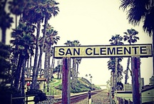 San Clemente, CA / Love my new home town of San Clemente.