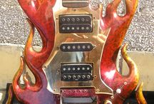guitars/stringed instruments / by Gene Getz