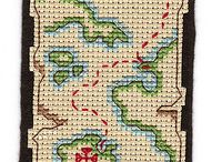 BOOKMARK *CROSS STITCH-EMBROIDERY