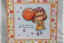 Cards_Just because / Just because theme cards made using Whimsie Doodles digital stamps