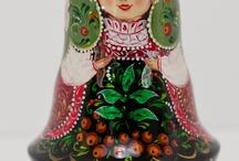 Matryoshka & babushka  / Anything an everything matryoshka and babushka  / by Catherine Tripp