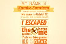 HUNGER GAMES / by Rory Croawell