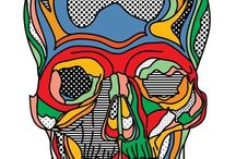 Skulls ´n modern art