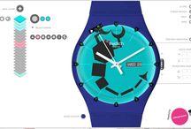 Swatch Design / Graphic Design for Swatch Contest, by Vanya Vasileva. vanyart.com/swatch_design.html