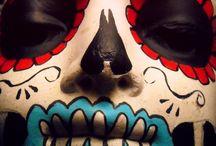 I Heart Mexican Folk Art / Dia De Los Muertos, Calaveras, Talavera pottery...It's all good.
