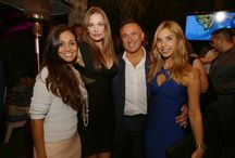 Hollywood Meets Hollywood / Miami Beach, FL – December 28, 2013 - On Saturday Supermodel Amber Arbucci joined South Beach pioneer, Michael Capponi, as well as developer Moses Bensusan, to co-host the debut party for Costa Hollywood condo resort.