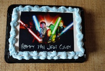 Kids BDay Party/Star Wars / Star Wars bday party ideas and more / by Leslie Botchar